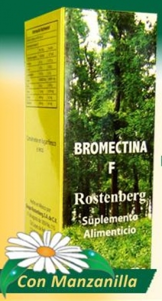 Bromectina F, para mejora tu digestión y baja de peso.